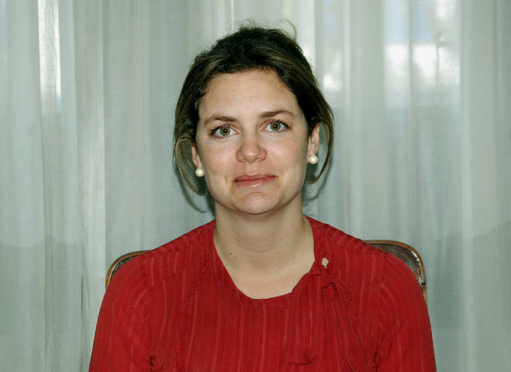 Subsecretaria de Hacienda Irina Terzaghi